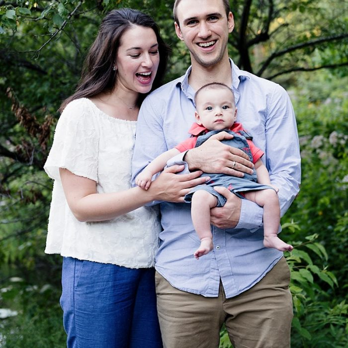 David, Liz and Sam | Lifestyle Family Photography | Chicago