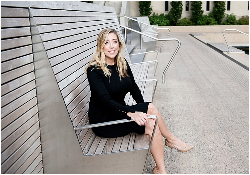 Photo of a woman posing on a bench, Louisville Branding Photography - Louisville Photographer - Top Louisville Photographer- Chelsea Mazur Photography