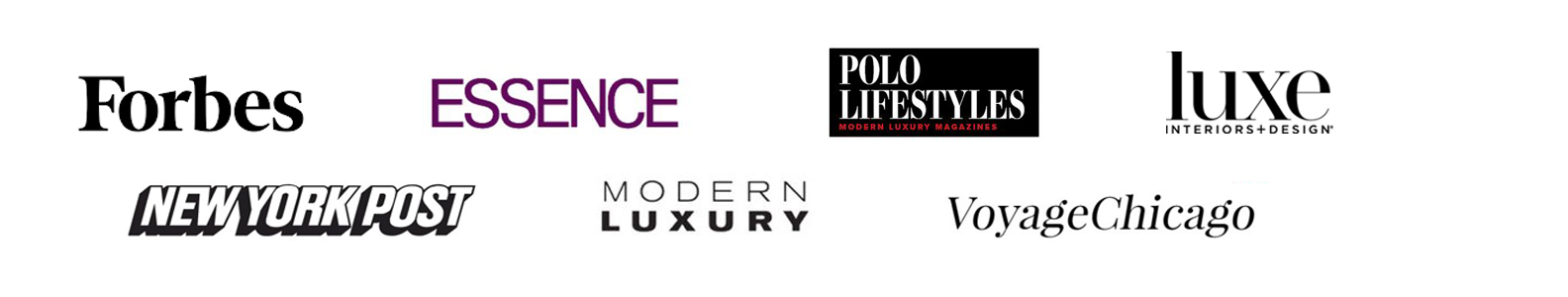 Chelsea Mazur Photography published in Forbes, Luxe interiors and design, Polo Lifestyles, Essence, Voyage Chicago, New York Post, Modern Luxury